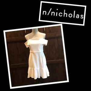 NWT- The N/Nicholas Ponti Off Shoulder Dress